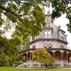Gorgeous octagon house
