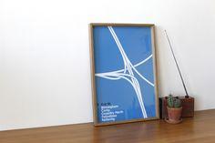 M1 Poster Mark Blamire - Tutti i diritti riservati a Blanka.co.uk