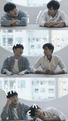 Kiss Me Again, Boy Meme, Park Hyung Sik, Thai Drama, Asian Actors, Fujoshi, Movies Showing, Boyfriend Material, Korean Drama