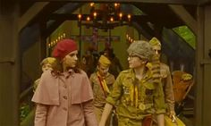 First loves. Moonrise Kingdom was just adorable!