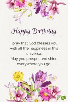 Happy Birthday Prayer, Happy Birthday Wishes Messages, Birthday Wishes And Images, Happy Birthday Pictures, Birthday Blessings, Happy Birthday Sister, Happy Birthday Quotes, Birthday Love, Happy Birthday Greetings