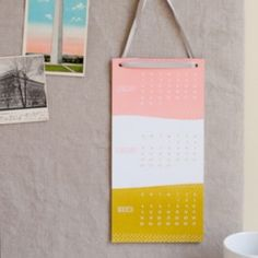 Modern and Unique 2012 Calendars | Oh So Beautiful Paper