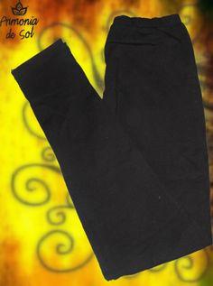 Calza de modal color negro