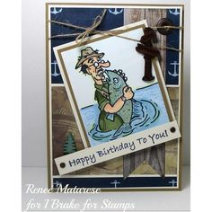 Della (@ibrakeforstamps) • Instagram photos and videos Masculine Birthday Cards, Happy Saturday, I Card, Stamps, Crafty, Photo And Video, World, Fun Ideas, Coupon