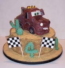 disney cars cake - Mater