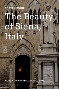 The beauty of Siena, Italy. City Travel Guide.