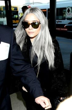 Olsen in grey