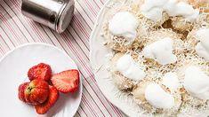 Kynuté jahodové knedlíky s tvarohem Napkin Rings, Napkins, Sweet, Candy, Towels, Dinner Napkins, Napkin Holders