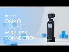 How to Connect Osmo Pocket to the Mobile Device Wirelessly Pocket Camera, Connection, Phone, Cameras, Youtube, Tutorials, Face, Telephone, Mobile Phones