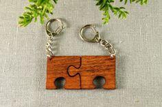 Schlüsselanhänger Puzzleteile