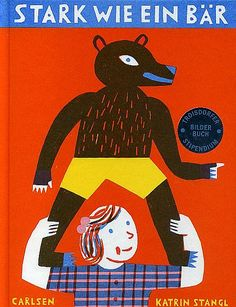 By Stangl..German Children's Book named Strong like a Bear