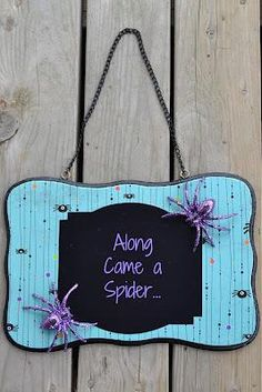 DIY Halloween: DIY Dollar Store {Halloween} Sign: DIY Halloween Decor