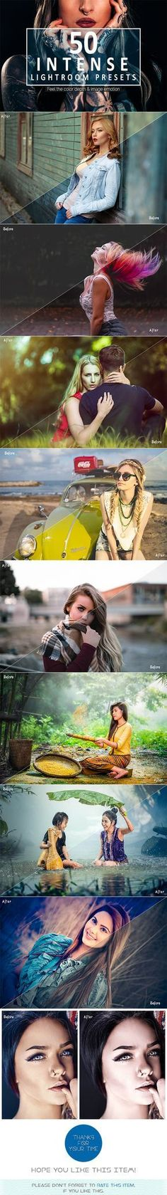 50 Intense Lightroom Presets - Lightroom Presets Add-ons