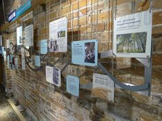 Timeline - layers of time - Exhibition Design by FWDP