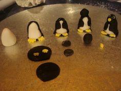 sugarpaste penguin tutorial