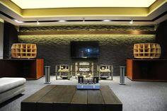 High end audio audiophile listening room