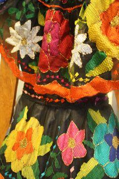 Chiapas Maya culture and fabrics. Mexico
