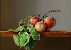Fruit Painting, Ceramic Painting, Painting & Drawing, Pencil Drawings, Art Drawings, Still Life Fruit, Hyperrealism, Fruit And Veg, Art Gallery