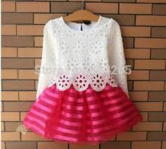 Cheap summer girl dress, Buy Quality girls dress directly from China princess dress Suppliers: Summer Girl Dress Children Girls's Clothing Set Spring Long Sleeve Striped White Pink Princess Dress Baby Girl Dresses, Baby Dress, The Dress, Dress Lace, Organza Dress, Pink Dress, Lace Skirt, Summer Girls, Kids Girls