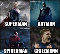 New memes funny boyfriend people Ideas Antoine Griezmann, Troll Football, Football Jokes, Cristiano Ronaldo, Ronaldo Soccer, Funny Soccer Memes, Memes Funny Faces, Funny Pics, Funny Stuff