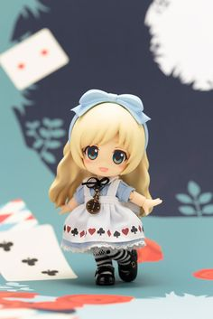 AmiAmi [Character & Hobby Shop] | Cu-poche Friends - Alice Posable Figure(Pre-order)