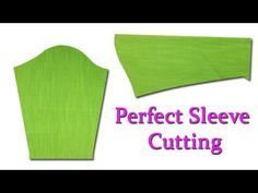 Perfect Sleeve cutting and stitching easy method for beginners, DIY Hindi tutorial Beginner Sewing Patterns, Sewing Patterns For Kids, Easy Sewing Projects, Sewing For Beginners, Sewing Tutorials, Cut Clothes, Sewing Clothes Women, How To Cut Sleeves, Sewing Sleeves