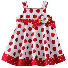 Sophie Rose Ladybug Dot Sundress - Baby  sale $14.40