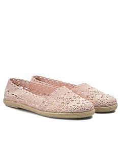 Espadrile dama crosetate cu talpa joasa de sfoara Slippers, Slip On, Sneakers, Shoes, Fashion, Tennis, Moda, Zapatos, Shoes Outlet