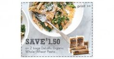 DeLallo Organic Pasta Deal at Whole Foods- Only $1.25