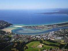 Town: Merimbula Aerial, Sapphire Coast, New South Wales, Australia. With a population of and is comprised of males and females. Moving To Australia, Coast Australia, Travelogue, Getting Old, East Coast, Birmingham, Places Ive Been, The Good Place, Environment