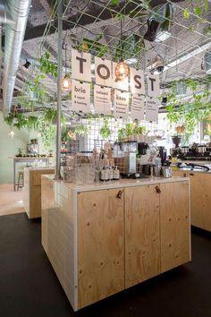 Coffeelab uc eindhoven (designed by studio lime) cafe-coffee Cafe Shop, Cafe Bar, Cafe Restaurant, Restaurant Design, Cafe Design, Store Design, Counter Design, Restaurants, Co Working
