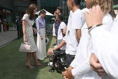 Emma Watson Is Taking Style Tips from Meghan Markle at Wimbledon 2018- HarpersBAZAAR.com