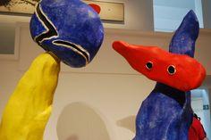 """Joan Miró - """"Parella d'enamorats dels jocs de flors d'ametller. Maqueta del conjunt escultòric de La Défense"""""""