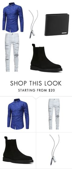 """""""Untitled #39"""" by victor8 ❤ liked on Polyvore featuring AMIRI, Yves Saint Laurent, Porsche Design, men's fashion and menswear"""