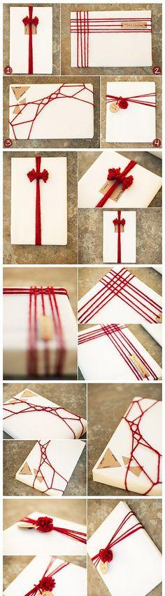 富有中国特色的礼品卡片包装装饰,你确定不来一个吗?简洁又美好【阿画】