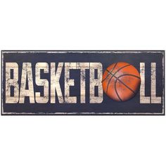 Williamson Asia ''Basketball'' Wall Art ($13) ❤ liked on Polyvore