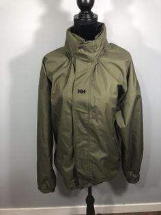 Mens Helly Hansen Windbreaker XL Green  | eBay Helly Hansen, Windbreaker, Raincoat, Green, Jackets, Clothes, Ebay, Fashion, Rain Jacket