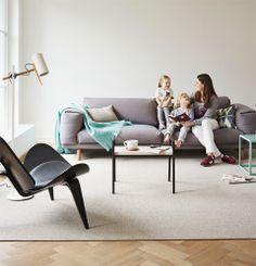 DESSO AirMaster® for Home: een stoer lussenpool tapijt met pure, natuurlijke uitstraling dat bovendien meer stof uit de lucht filtert dan andere vloeren.