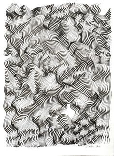 """Saatchi Online Artist Ken Resen; Drawing, """"Poseidon"""" #art"""