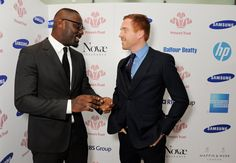 Pin for Later: Everyone Wants a Piece of Idris Elba With Damian Lewis The other hot tip for Bond!