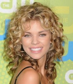 Trendy Shoulder Length Hairstyles For Curly Hair Styles Design 367x422 Pixel