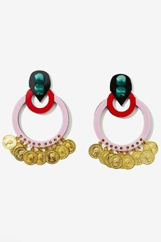 Melody Ehsani Culture Currency Earrings