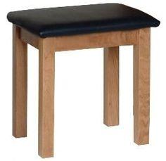 Devonshire New Oak Dressing Table Stool