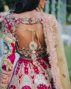 Indian Bridal Outfits, Indian Bridal Wear, Indian Dresses, Bridal Dresses, Asian Bridal, Indian Clothes, Stylish Blouse Design, Stylish Dress Designs, Stylish Dresses
