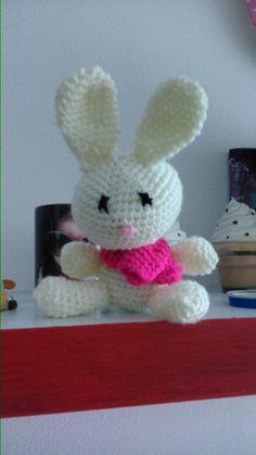 Amigurumi!!! A little white bunny!!!