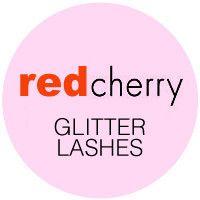 Red Cherry Glitter Lashes