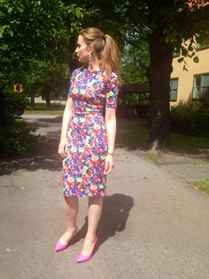 Zara summer dress  Flower dress Style  Summer fashion