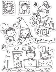 Mimi's Playground Pěkné Kresby, Digi Známky, Grafický Design, Blahopřání, Draw, Vzory, Dárky, Ruční Výroba