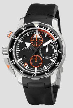 S.A.R. Flieger-Chronograph - Nautische Armbanduhren - Funktionale Armbanduhren   Mühle-Glashütte GmbH nautische Instrumente und Feinmechanik