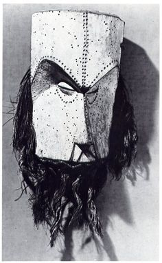 grupaok:    Fang mask, Gabon. From the collection of Georges Braque.
